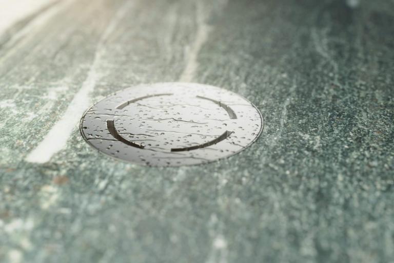 Piatto doccia effetto pietra